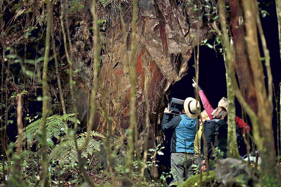 Nueva expedición científica a cuevas rupestres de Chaitén