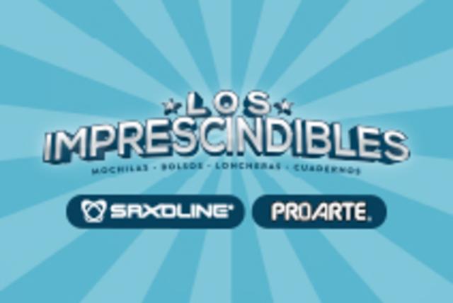 NUEVA PROMOCIÓN LOS IMPRESCINDIBLES: MOCHILAS Y CUADERNOS
