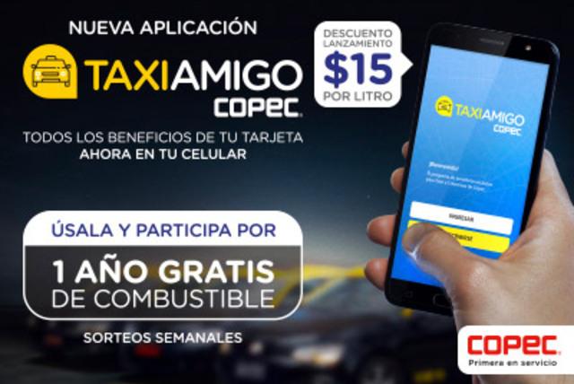 Descarga la nueva Aplicación TaxiAmigo Copec! [PROMOCIÓN FINALIZADA]