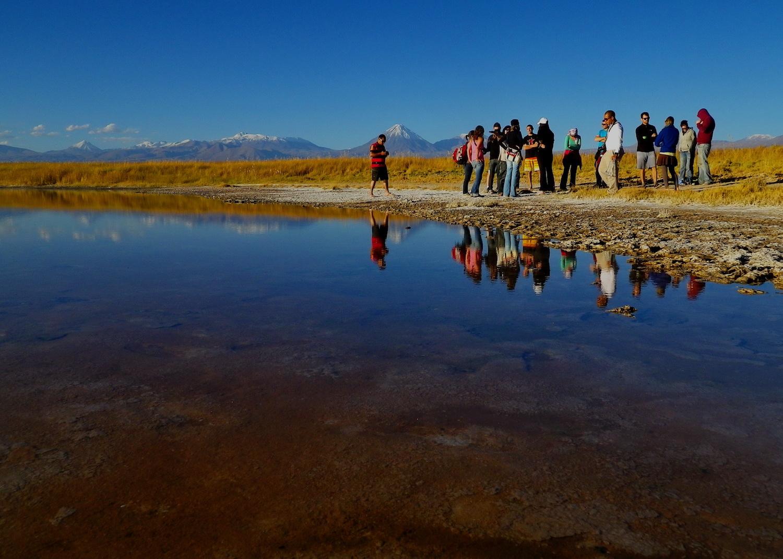 Laguna Cejar vuelve a ser recomendada para el baño