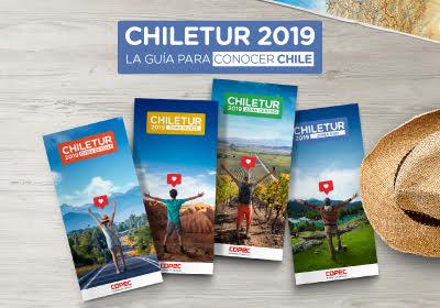 Descubre las novedades de la nueva edición de CHILETUR 2019, la guía para conocer Chile