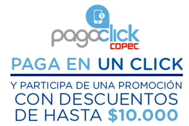 Descarga o actualiza PAGOCLICK y participa por descuentos instantáneos en un click