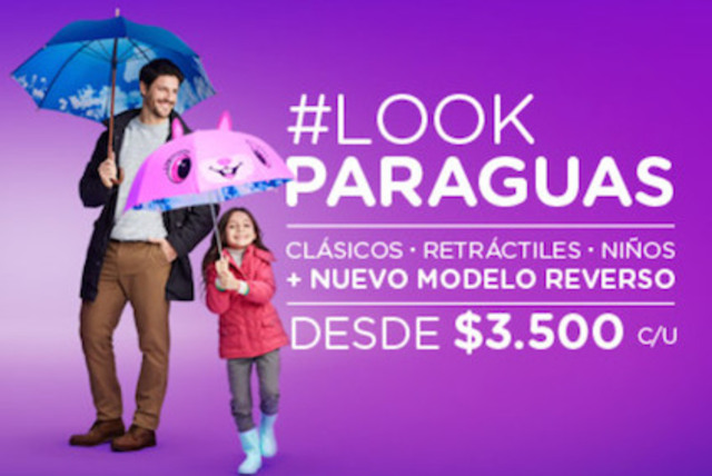 #LookParaguas Copec con nuevos modelos [PROMOCIÓN FINALIZADA]