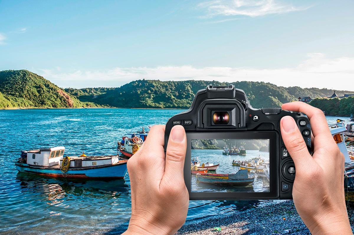 ¡Gana una cámara Canon o millas LATAMPass con Chiletur y Canon!