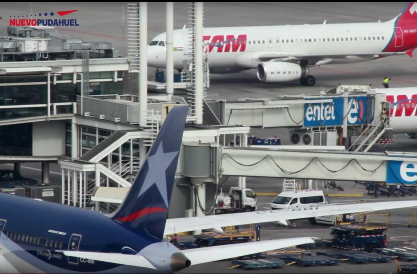 Mejoras en Aeropuerto Pudahuel: se inaugura nueva salida internacional
