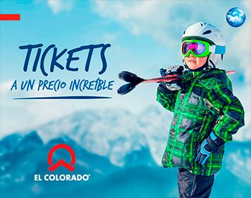 ¡Tickets a un precio increíble! - El Colorado