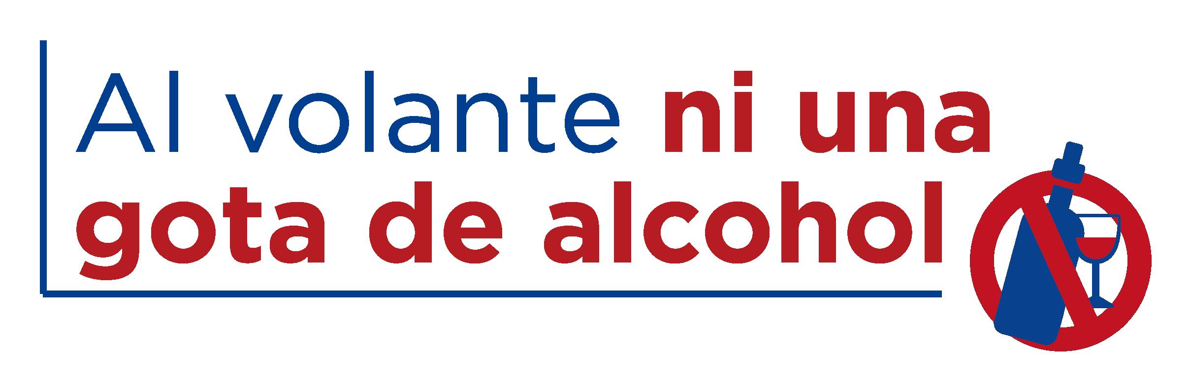 Al volante ni una gota de alcohol