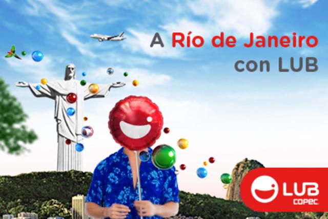 Participa por 5 pasajes dobles a Río de Janeiro con LUB