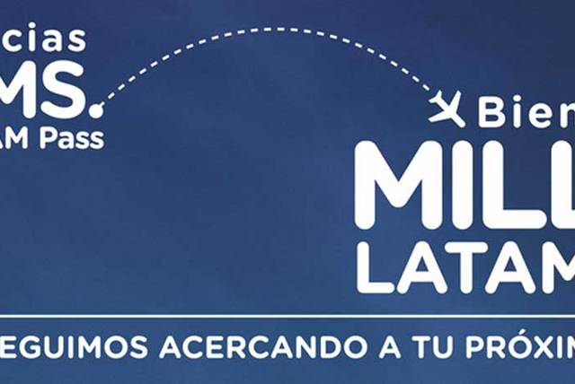 Gracias KMS., Bienvenidas Millas LATAM Pass