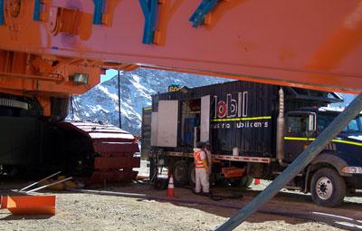 Camion-Lubricador