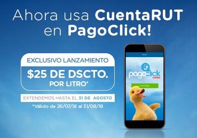 Bienvenidos todos a usar CuentaRUT en PagoClick!