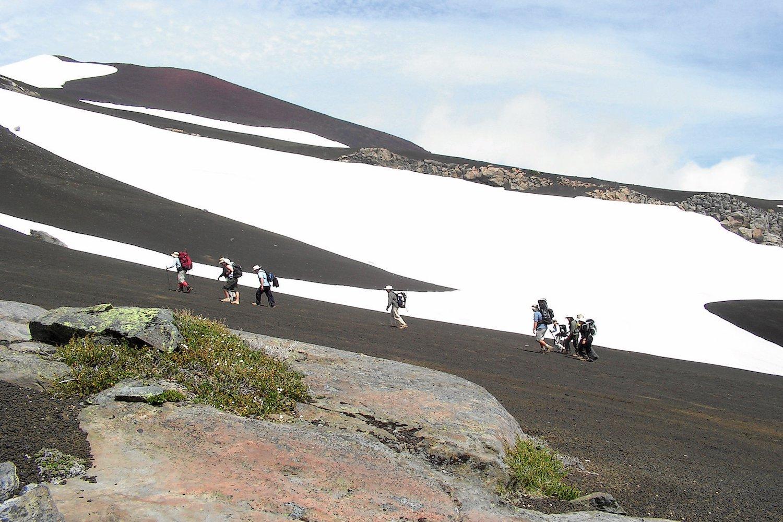 Trekking en los Nevados de Sollipulli