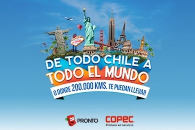 Con Copec y Pronto Copec viaja DE TODO CHILE A TODO EL MUNDO [FINALIZADO]
