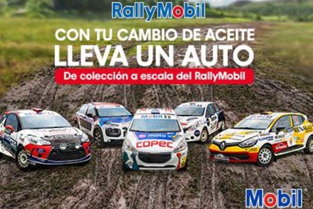Llévate un auto a escala del RallyMobil