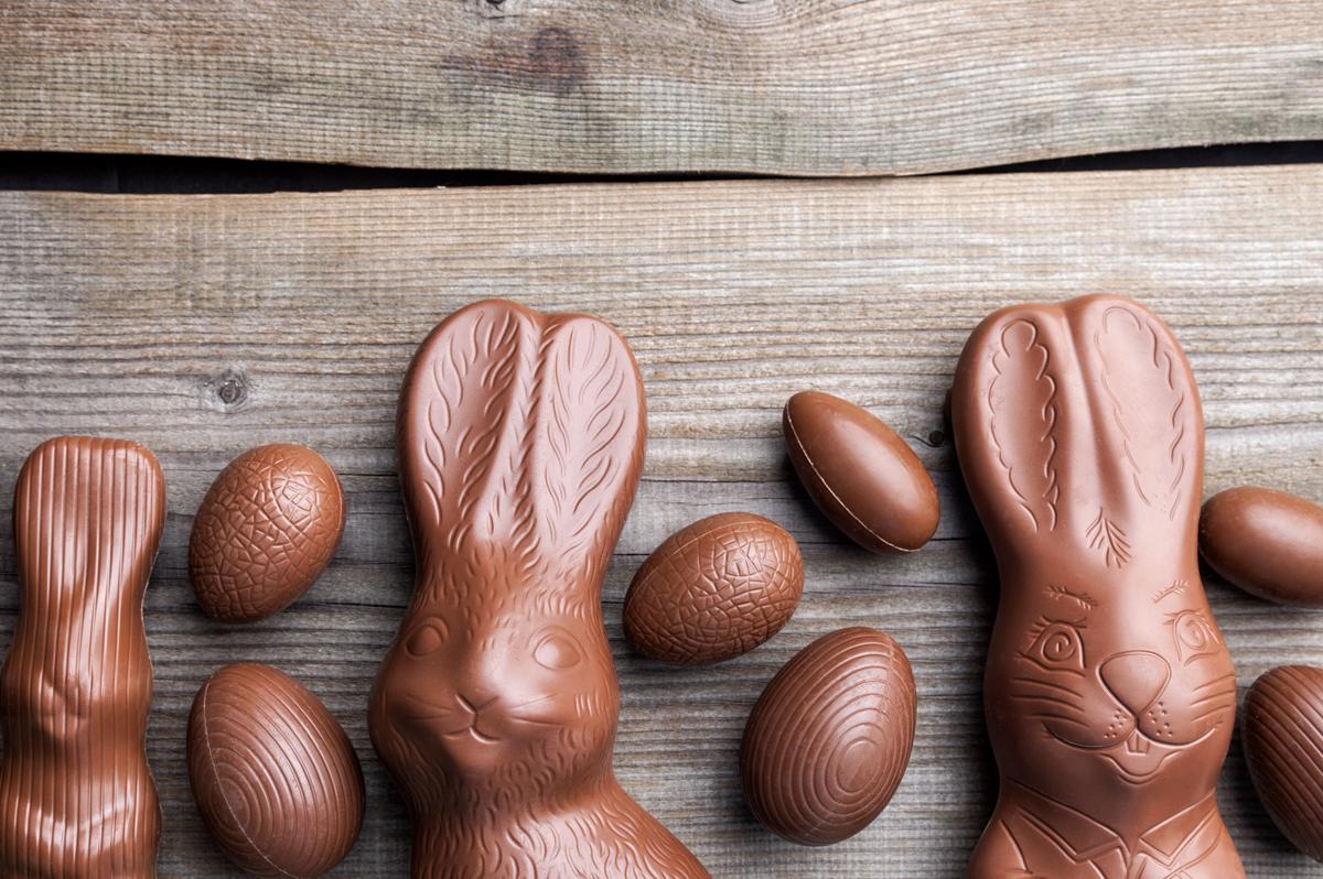 figuras de conejo chocolate semana santa