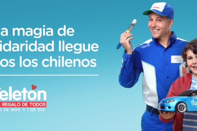 Que la magia de la solidaridad llegue a todos los chilenos en esta Teletón 2018.