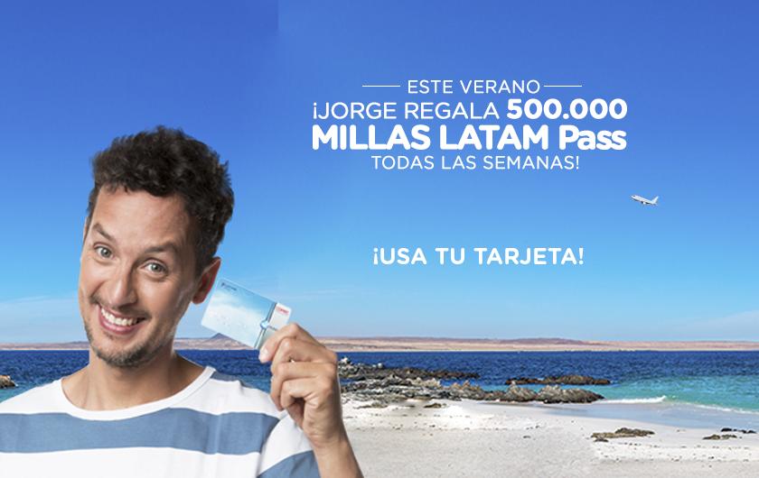 Jorge regala 500.000 Millas cada semana [EXTENSIÓN]