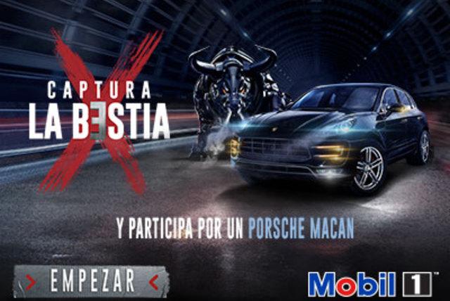 ¡Captura La Bestia con Mobil 1 y participa por un increíble Porsche Macan! [FINALIZADO]