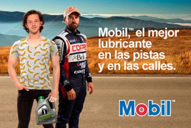 Mobil: El lubricante de los mejores pilotos del mundo, en las pistas y en las calles